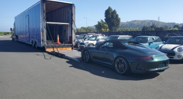 Enclosed car carrier Luxury Car and Sports Car Shipping Very Reliable Auto Transport. Sweet Logistics 949-456-2184