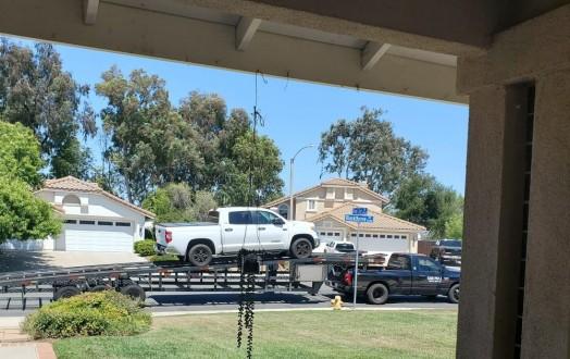 Door to door open trailer auto transport