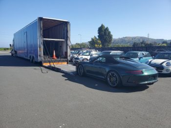 enclosed vehicle transporter sweet logistics murrieta ca car mover